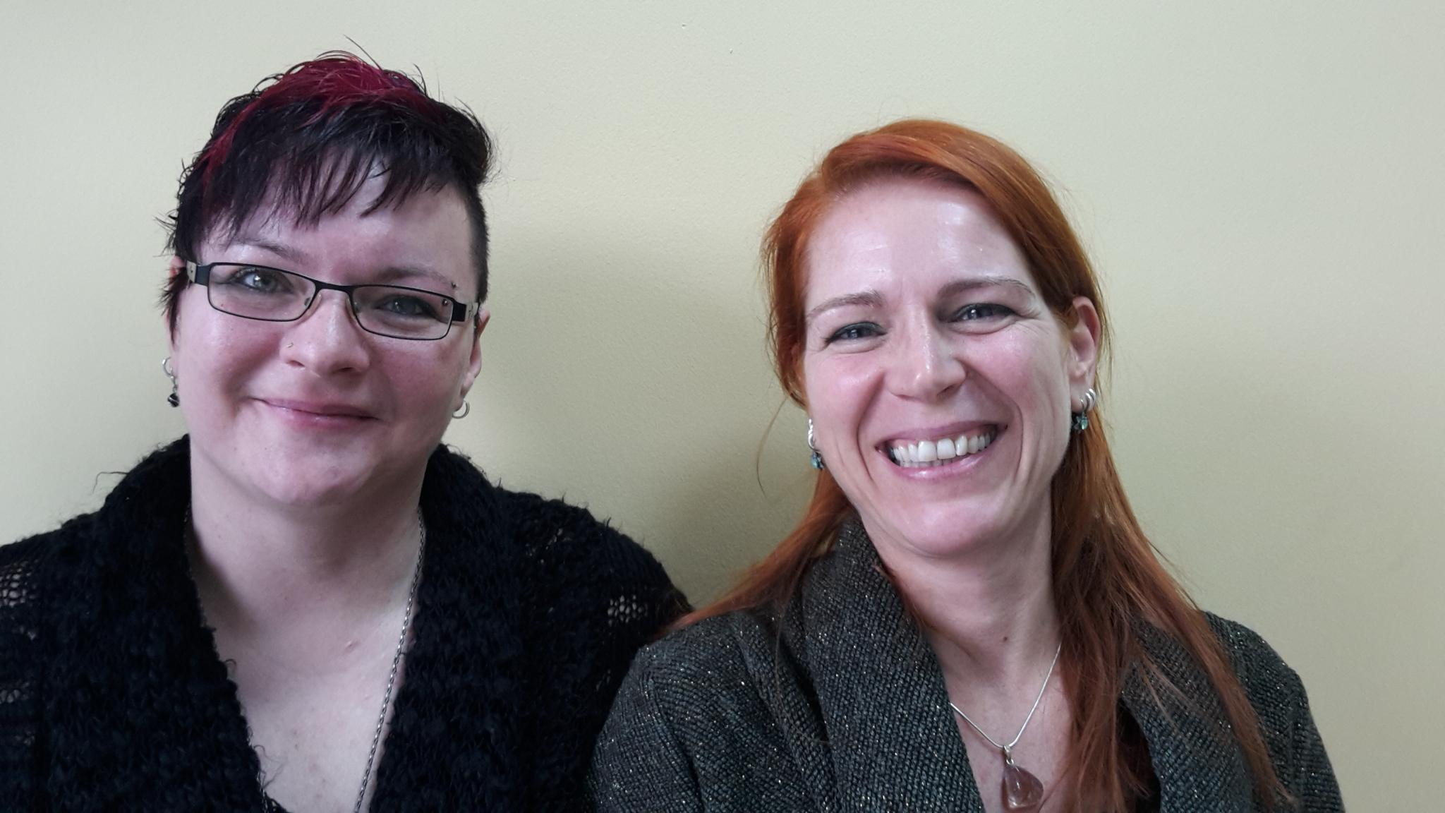Zwei neue Kolleginnen Zustellerbetreuung