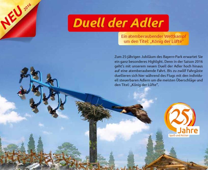 Duell der Adler Bayern Park